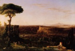 Thomas Cole - paintings - Italian Scene Composition