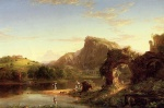 Thomas Cole - paintings - Italian Sunset