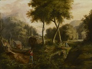 Thomas Cole - paintings - Landscape