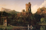 Thomas Cole - paintings - Landscape Composition (Italien Scenery)