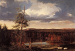 Thomas Cole - paintings - Landscape the Seat of Mr. Featherstonehaugh in the Distance