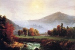 Thomas Cole - paintings - Ein Blick auf Amerika (New Hampshire) im Herbst
