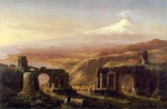 Thomas Cole - paintings - Mount Aetna from Taormina