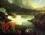 Thomas Cole - paintings - Niagara Falls