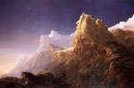 Thomas Cole - paintings - Prometheus Bound