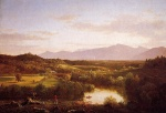 Thomas Cole - paintings - River in the Catskills