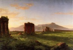 Thomas Cole - paintings - Roman Campagna