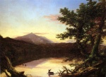 Thomas Cole - paintings - Schroon Lake