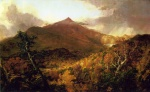 Thomas Cole - paintings - Schroon Mountain Adirondacks