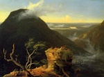Thomas Cole - paintings - Sunny Morning on the Hudson River