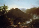 Thomas Cole - paintings - Sunrise in the Catskill Mountains