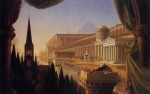 Thomas Cole - paintings - The Architects Dream