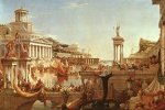 Thomas Cole - paintings - The Course of the Empire