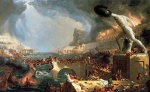 Thomas Cole - paintings - The Course of Empire (Destruction)
