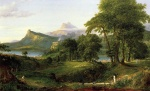 Thomas Cole - paintings - The Course of Empire (The Arcadian or Pastoral State)