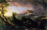 Thomas Cole - paintings - The Course of Empire (The Savage State)