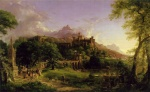 Thomas Cole - paintings - The Departure