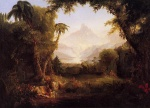 Thomas Cole - paintings - Der Garten Eden