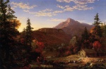 Thomas Cole - paintings - Rueckkehr der Jaeger