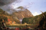 Thomas Cole  - paintings - The Notch of the White Mountains