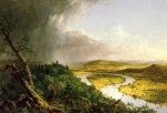 Thomas Cole  - paintings - The Oxbow