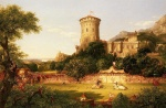 Thomas Cole  - paintings - The Past