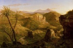 Thomas Cole  - paintings - The Vale and Temple of Segesta Sicily