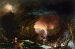 Thomas Cole  - paintings - The Voyage of Life (Manhood)