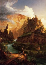 Thomas Cole  - paintings - Valley of the Vaucluse