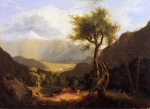 Thomas Cole  - paintings - View in the White Mountains