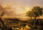 Thomas Cole  - paintings - View of Boston