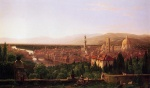 Thomas Cole  - paintings - View of Florence from San Miniato