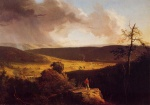 Thomas Cole  - paintings - View of L Esperance on the Schoharie River