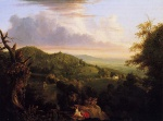 Thomas Cole  - paintings - iew of Monte Video Seat of Daniel Wadsworth Esq