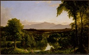Thomas Cole  - paintings - View on the Catskill Early Autumn