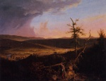 Thomas Cole  - paintings - View on the Schoharie