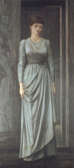 Edward Burne Jones - Bilder Gemälde - Lady Windsor