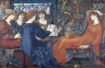 Edward Burne Jones - Bilder Gemälde - Laus Veneris