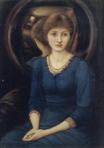 Edward Burne Jones - Bilder Gemälde - Margaret Burne Jones