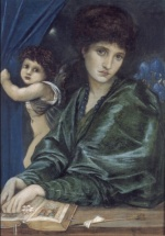 Edward Burne Jones - Bilder Gemälde - Maria Zambaco