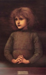 Edward Burne Jones - Bilder Gemälde - Portrait of a Young Boy