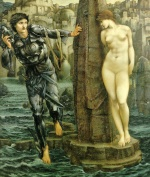 Edward Burne Jones - Bilder Gemälde - Rock of Doom