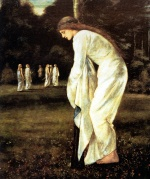 Edward Burne Jones - Bilder Gemälde - The Tied to the Tree