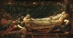 Edward Burne Jones - Bilder Gemälde - Sleeping Beauty