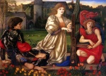 Edward Burne Jones - Bilder Gemälde - Song of Love