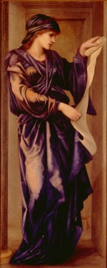 Edward Burne Jones - Bilder Gemälde - Sybil