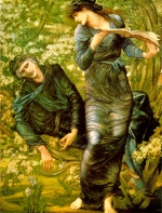 Edward Burne Jones - Bilder Gemälde - The Beguiling of Merlin