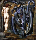 Edward Burne Jones - Bilder Gemälde - The Doom Fulifilled
