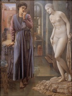 Edward Burne Jones - Bilder Gemälde - The Hand Refrains