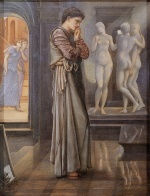 Edward Burne Jones - Bilder Gemälde - The Heart Desires